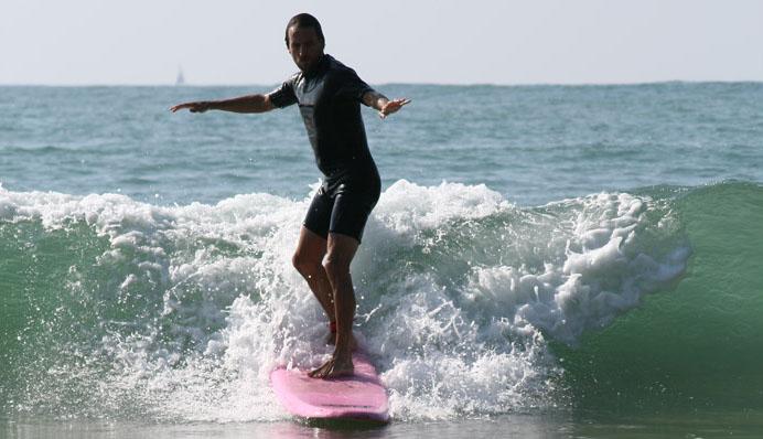Camping à Bidart avec piscine et activité Surf