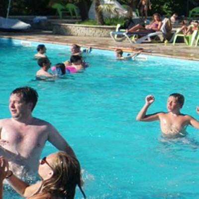 Camping à Bidart avec piscine et activité Waterpolo