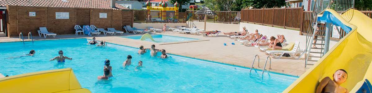 Camping arena entre saint jean de luz et guethary au pays - Camping saint jean de luz avec piscine ...